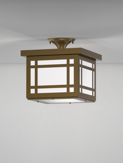 Bismarck Series Ceiling Mount Church Lighting Fixture in Oil Rubbed Bronze Finish
