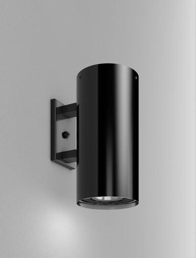 Chandler Series Wall Bracket Church Lighting Fixture in Semi-Gloss Black Finish
