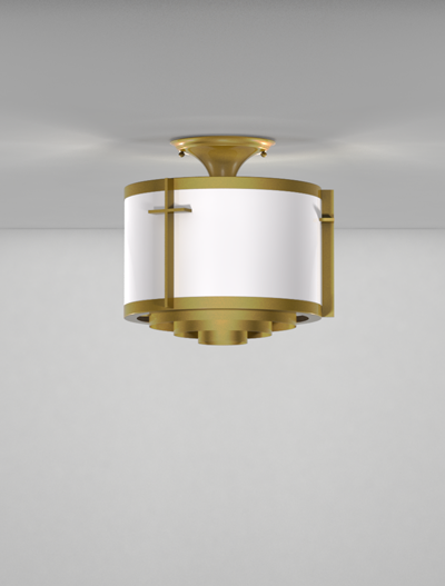 Cleveland Series Ceiling Mount Church Lighting Fixture in Array Finish