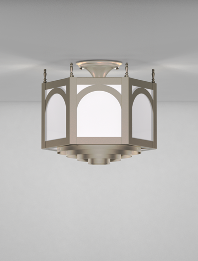 Charleston Series Ceiling Mount Church Lighting Fixture in Array Finish