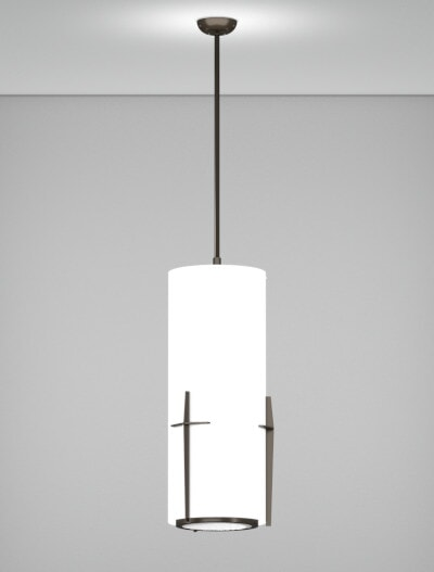 Corvallis Series Pendant Church Lighting Fixture in Array Finish