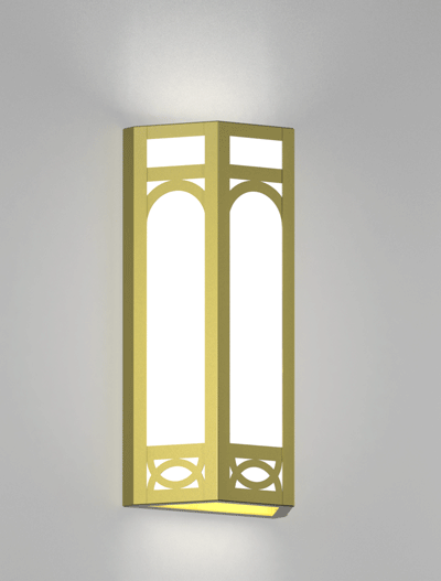 Dover Series Wall Sconce Church Lighting Fixture in Array Finish