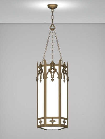 Easton Series Pendant Church Lighting Fixture in Array Finish
