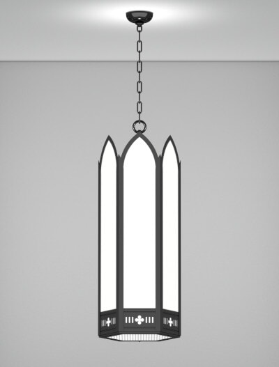 Gainesville Series Pendant Church Lighting Fixture in Array Finish