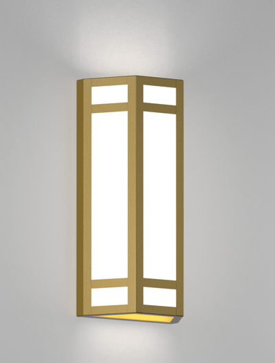 Hebron Series Wall Sconce Church Lighting Fixture in Array Finish