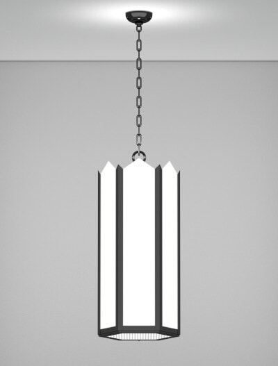 Hancock Series Pendant Church Lighting Fixture in Array Finish