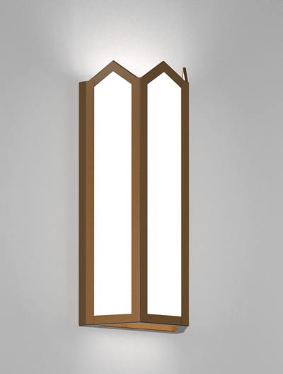 Hammond Series Wall Sconce Church Lighting Fixture in Array Finish
