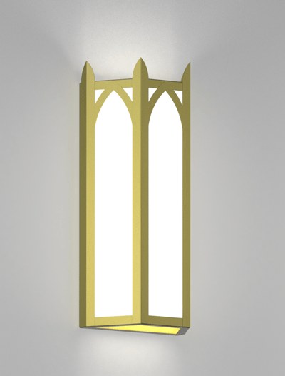 Hagerstown Series Wall Sconce Church Lighting Fixture in Array Finish