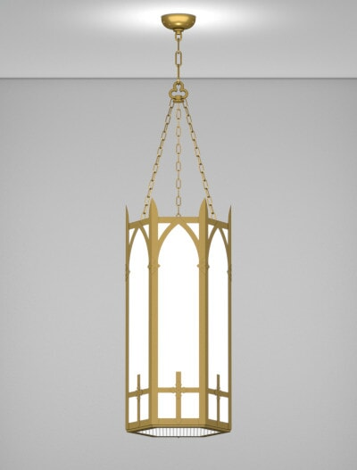 Ipswich Series Pendant Church Lighting Fixture in Array Finish