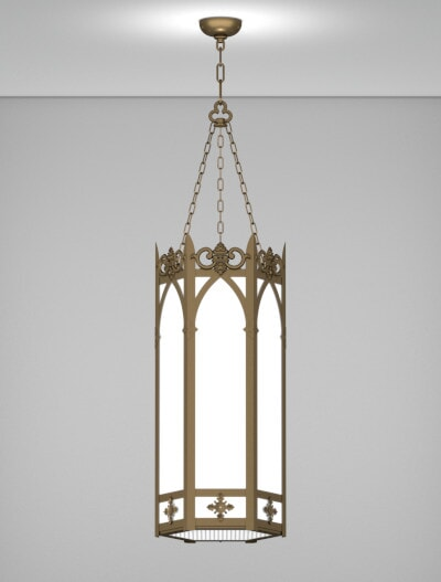 Lancaster Series Pendant Church Lighting Fixture in Array Finish
