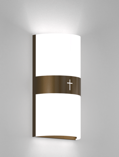 Phoenix Series Wall Sconce Church Lighting Fixture in Array Finish