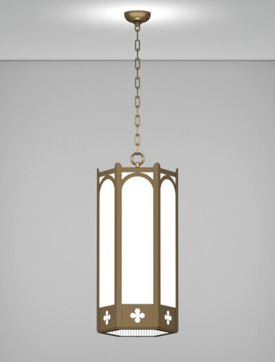 Roe Series Pendant Craft Metal