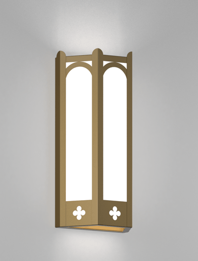 Roselle Series Wall Sconce Church Lighting Fixture in Array Finish