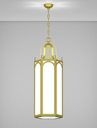 Raleigh Series Pendant Church Lighting Fixture in Array Finish