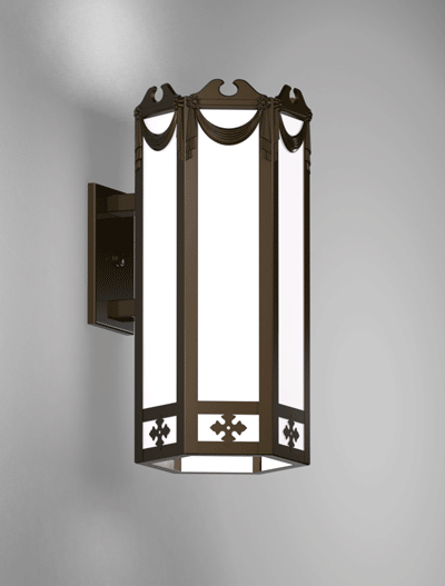 Richmond Series Wall Bracket Church Lighting Fixture in Array Finish