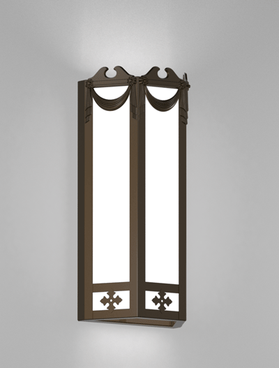 Richmond Series Wall Sconce Church Lighting Fixture in Array Finish