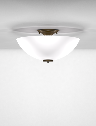 San Antonio Series Ceiling Mount Church Lighting Fixture in Duranodic 313 Finish