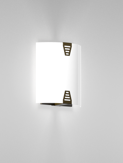 Woodstock Series Wall Sconce WS1020S Church Lighting Fixture in Duranodic 313 Finish