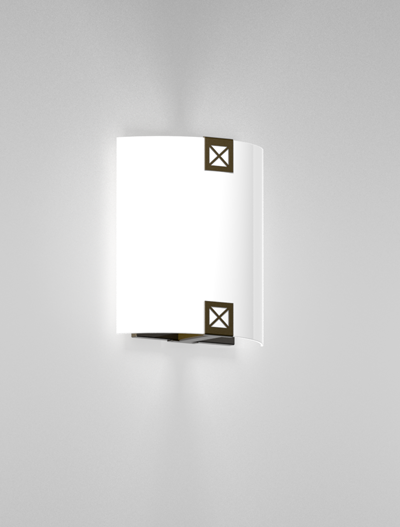 Woodstock Series Wall Sconce WS1040S Church Lighting Fixture in Duranodic 313 Finish