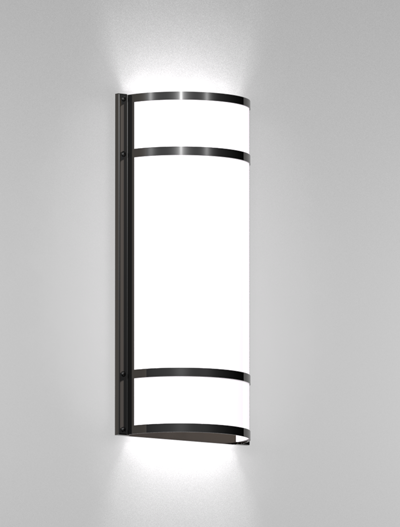 Woodstock Series Wall Sconce WS2102S Church Lighting Fixture in Duranodic 313 Finish