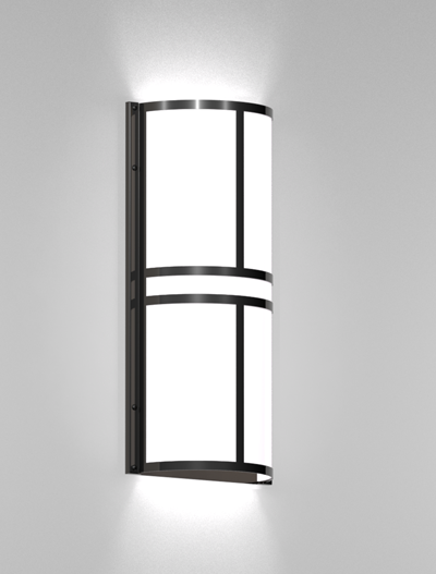 Woodstock Series Wall Sconce WS2122S Church Lighting Fixture in Duranodic 313 Finish