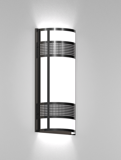 Woodstock Series Wall Sconce WS2142S Church Lighting Fixture in Duranodic 313 Finish