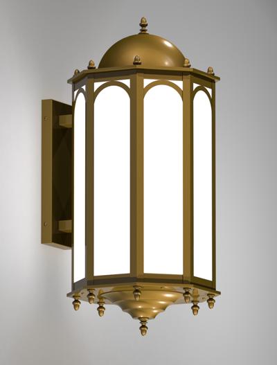 Custom Series  X0409 Church Lighting Fixture in Medium Bronze Finish