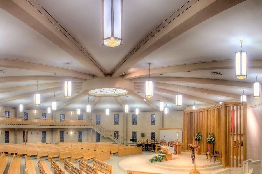 Churches Lighting - St. Philip the Apostle