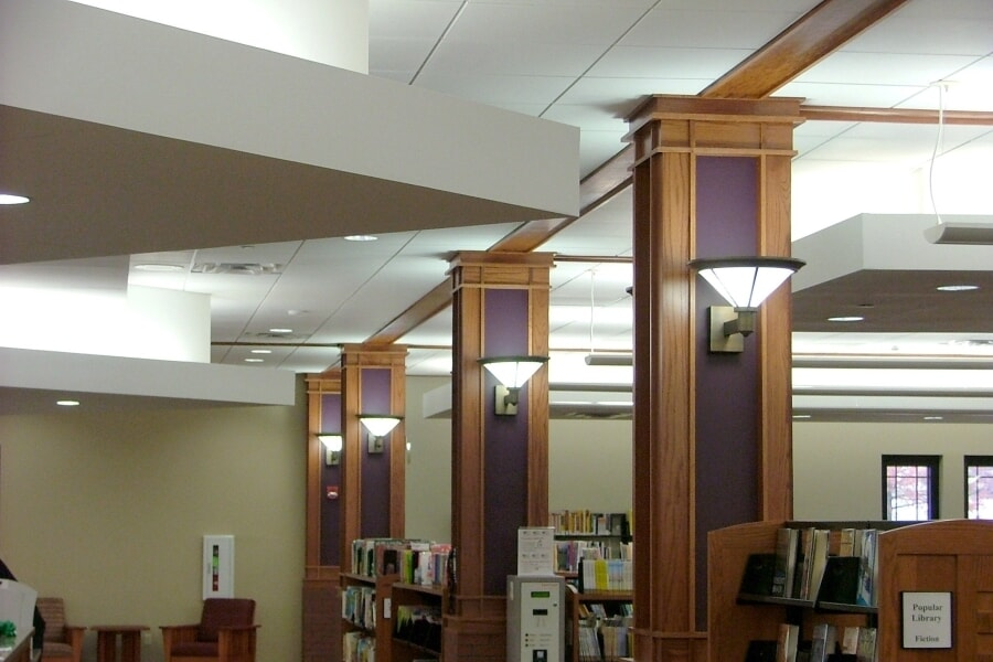 Libraries Lighting - White Haven Library