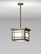 Bismarck Series Short Pendant Church Light Fixture