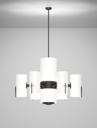 Corvallis Series 6-Arm Satellite Pendant Church Light Fixture