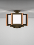 Hampton Series Ceiling Mount Church Light Fixture