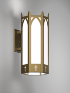 Hartford Series Wall Bracket Church Light Fixture