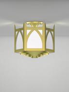 Hagerstown Series Ceiling Mount Church Light Fixture