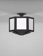 Houston Series Ceiling Mount Church Light Fixture
