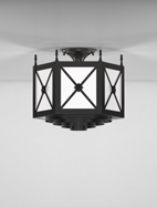 Jamestown Series Ceiling Mount Church Light Fixture