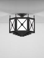 Jamestown Series Ceiling Mount Church Light Fixture