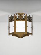 Lancaster Series Ceiling Mount Church Light Fixture