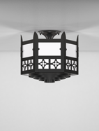 Oxford Series Ceiling Mount Church Light Fixture