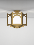 Roselle Series Ceiling Mount Church Light Fixture