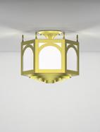 Raleigh Series Ceiling Mount Church Light Fixture